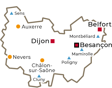 Centres régionaux 2019 - Bourgogne Franche-Comté - grand