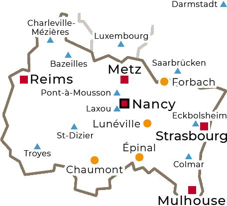 Centres régionaux 2019 - Grand Est - grand