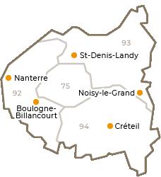 Centres régionaux 2019 -  Grand-Paris - petit